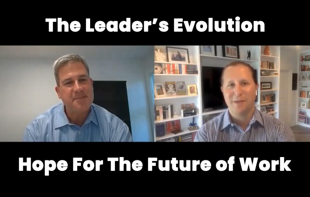 Ken Warman discussing leadership coaching on webinar