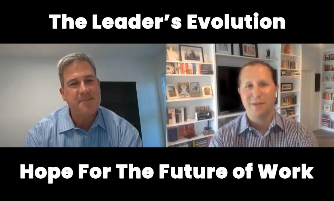 Ken Warman discussing leadership coaching on webinar